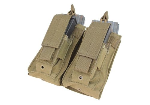 Condor MA51 Double Kangaroo Mag Pouch - Coyote Brown