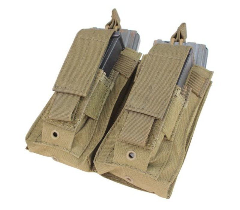 MA51 Double Kangaroo Mag Pouch - Coyote Brown
