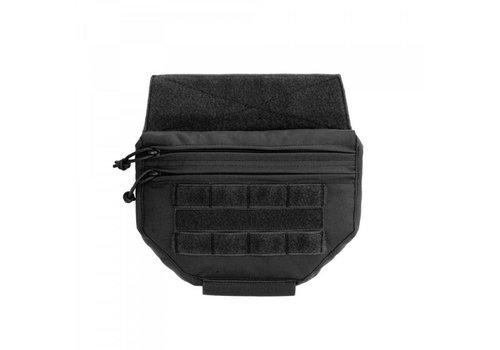 Warrior Drop Down Velcro Utility Pouch - Black