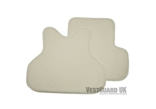 VestGuard UK Level II ( 2 ) Soft Armour Panels ( set )