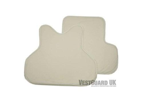 VestGuard UK Level II ( 2 ) Soft Armour Panels ( set )