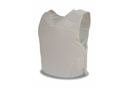 VestGuard UK Body Armour carrier Ultra Covert - White