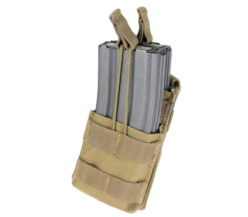 MA42 Single Stacker M4 Mag Pouch - Coyote Brown