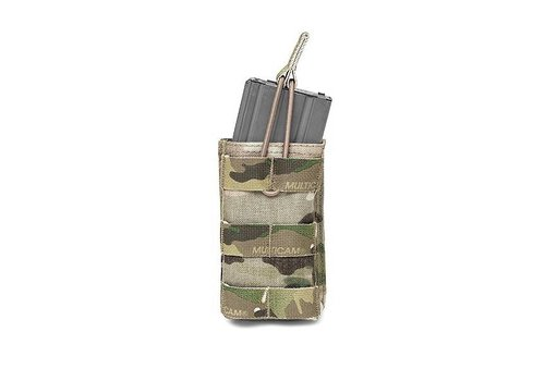 Warrior Single Open 5.56 Mag Bungee Retention - MultiCam