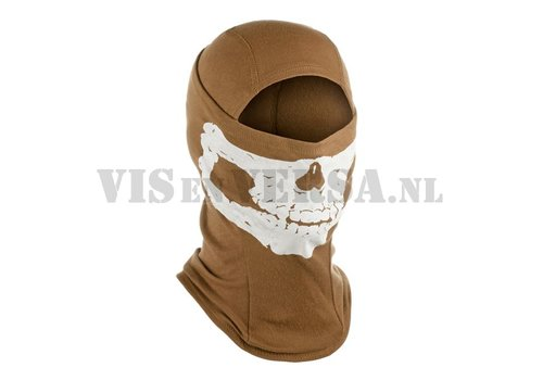 Invader Gear MPS Death Head Balaclava - Coyote Tan