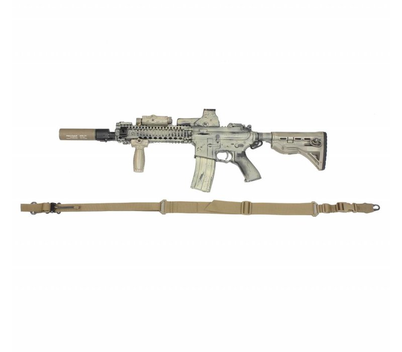 Two Point Weapon Sling - Coyote Tan