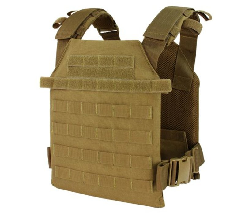 201042 Sentry Lightweight Plate Carrier - Coyote Brown