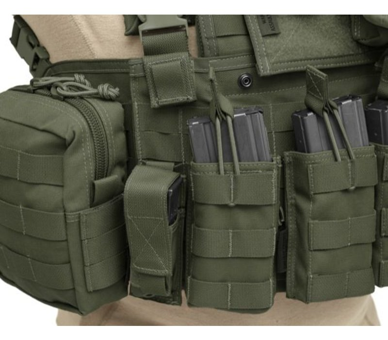 901 Elite 4 Chest Rig - Olive Drab