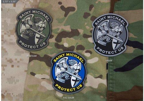 MilSpec Monkey Saint Michael Modern patch PVC - MultiCam