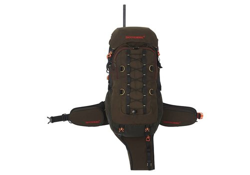 Shooterking Venator Rucksack Brown RS02 35L