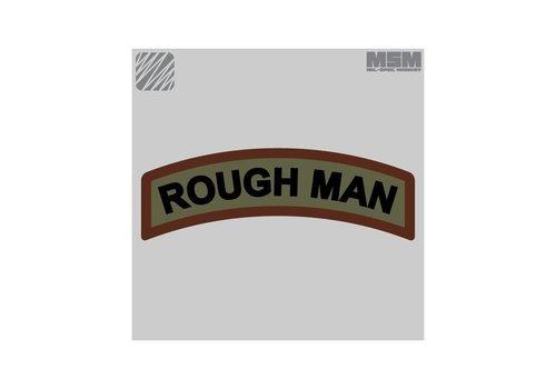 MilSpec Monkey Rough Man patch - Desert