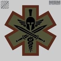 Tactical Medic Spartan Patch - SWAT