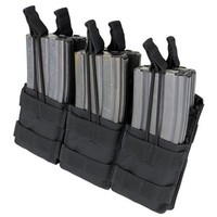 MA44 Triple Stacker M4 Mag pouch - Black