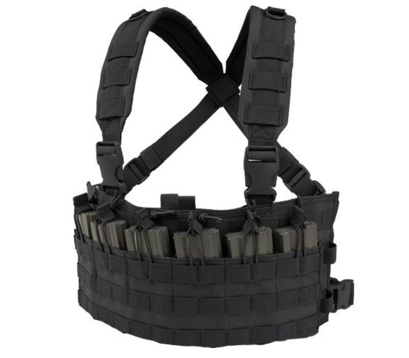 MCR6 Rapid Assault Chest Rig - Black