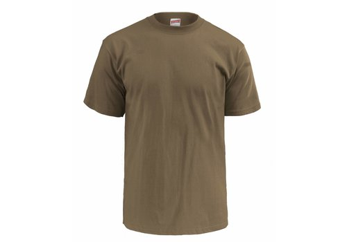 Soffe T-Shirt Tan, 3 pack