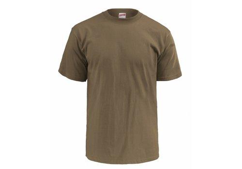 Soffe T-Shirt Tan, 3 pak
