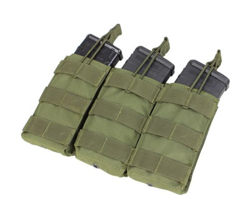 MA27 Open Top M4/M16 Triple Mag Pouch - Olive Drab