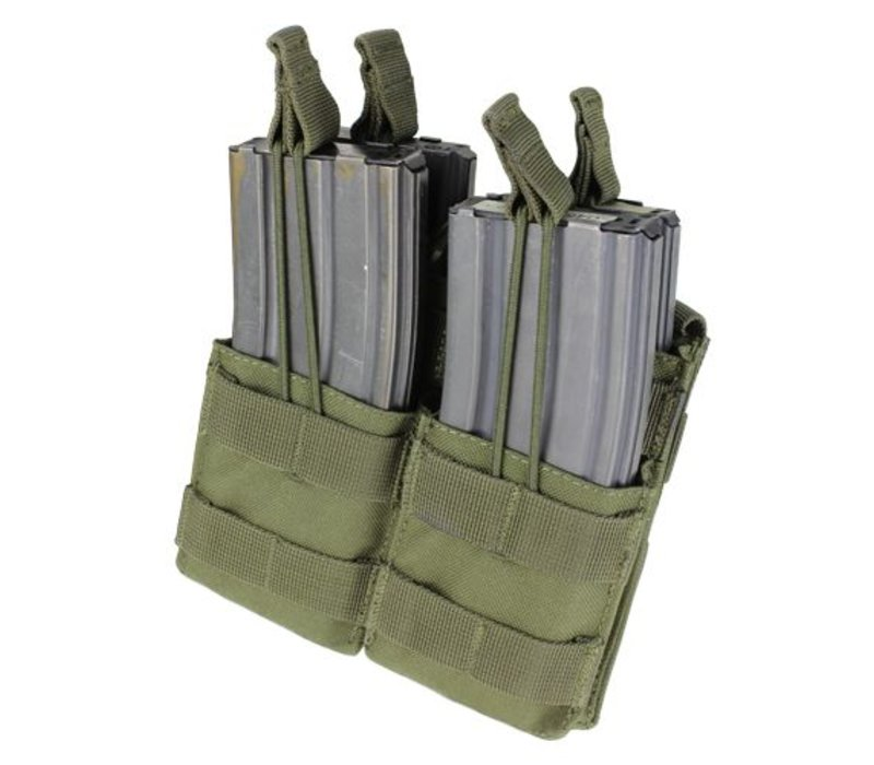 MA43 Double Stacker M4 Mag Pouch - Olive Drab