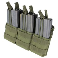 MA44 Triple Stacker M4 Mag pouch - Olive Drab