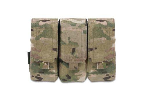 Warrior Elite OPS Triple 5.56 M4 Pouch - MultiCam
