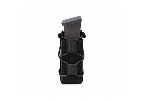 Warrior Single Quick Mag for 9mm Pistol - Black