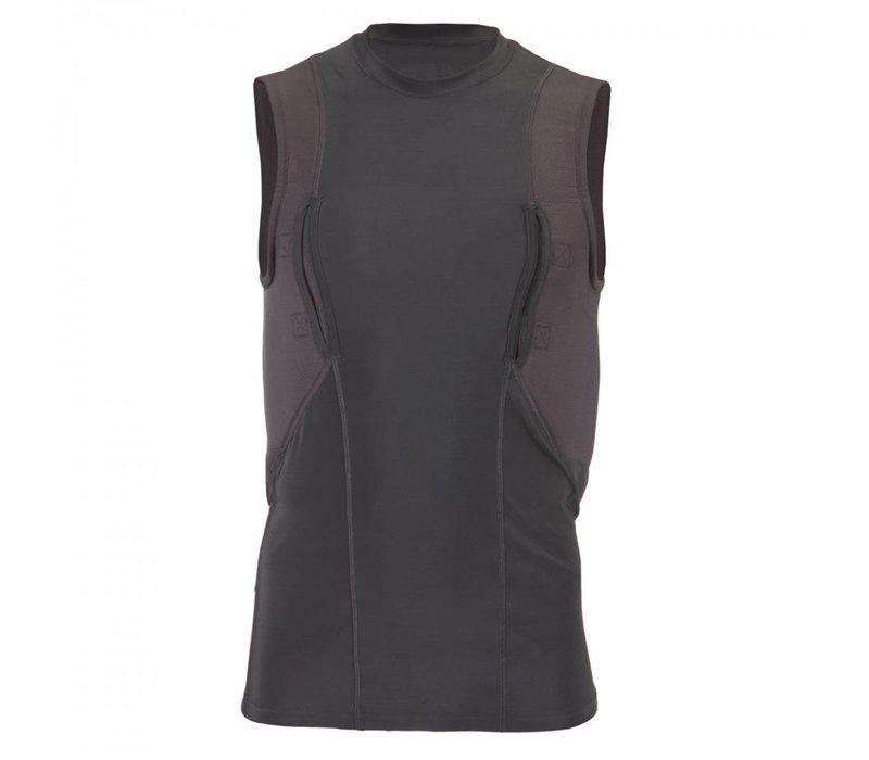 Sleeveless Holster Shirt - Black