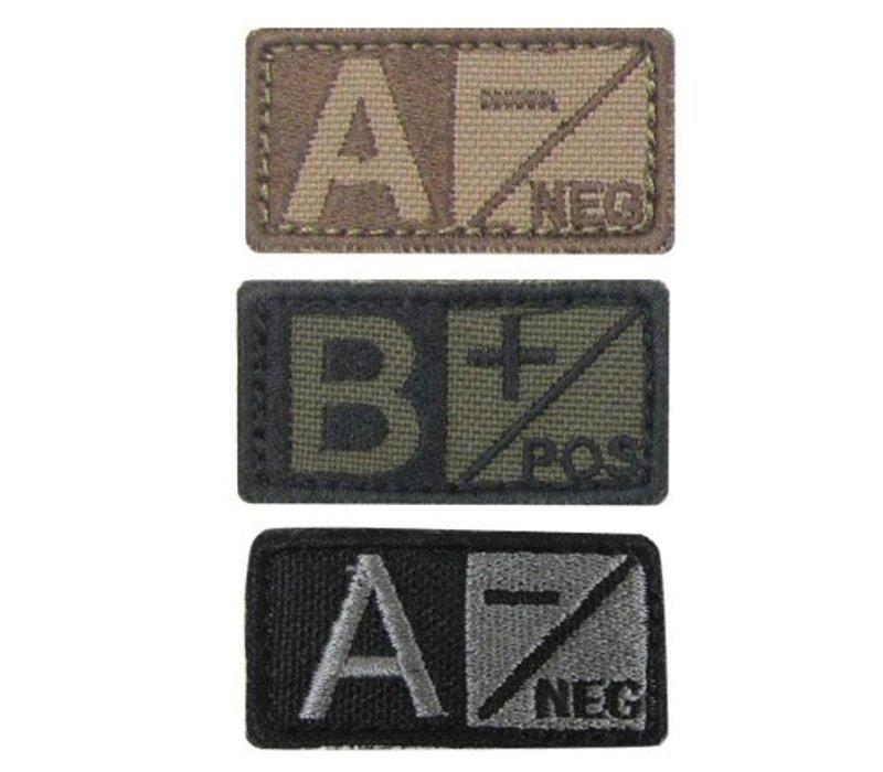229 Blood Type Badge - Foliage