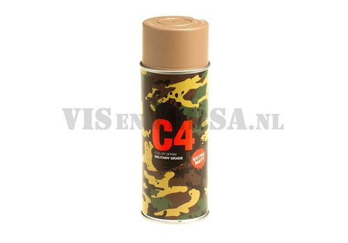 C4 Military Grade Color Spray RAL8031 (brown sand)
