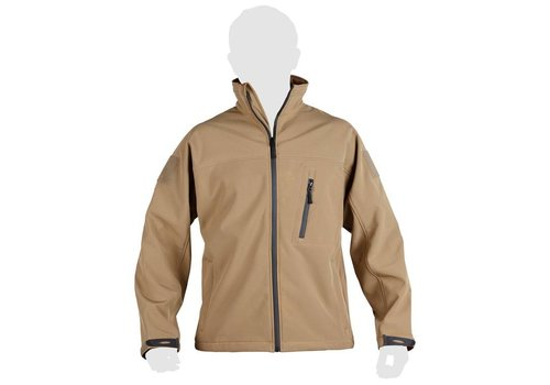 KU Trooper Tactical softshell jacket - Coyote Tan