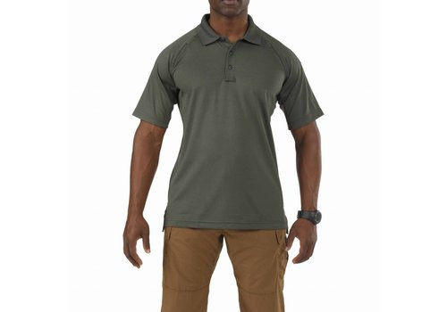 5.11 Tactical Performance Short Sleeve Polo - TDU Green