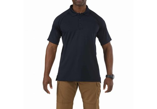 5.11 Tactical Performance Short Sleeve Polo - Dark Navy