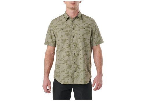 5.11 Tactical Crestline Camo Short Sleeve Shirt - Python