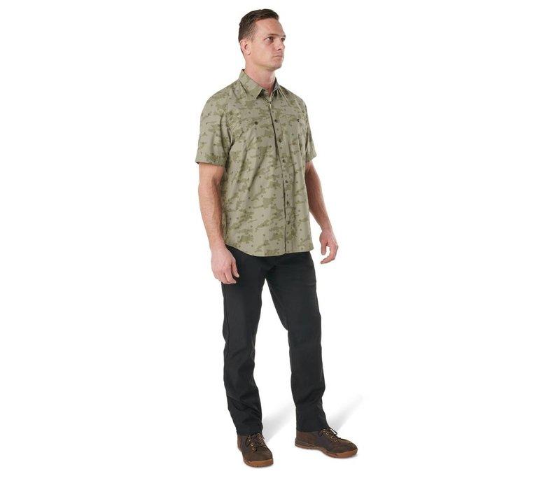 Crestline Camo Short Sleeve Shirt - Python