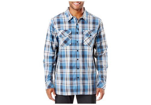 5.11 Tactical Peak Long Sleeve Shirt -  Diplomat Plaid