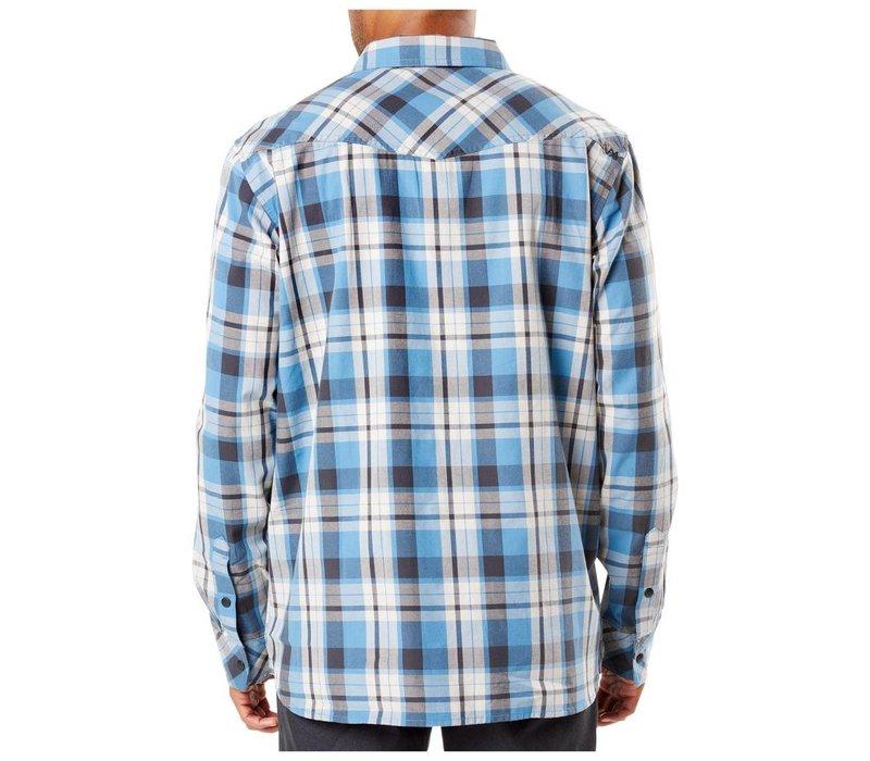 Peak Long Sleeve Shirt -  Diplomat Plaid