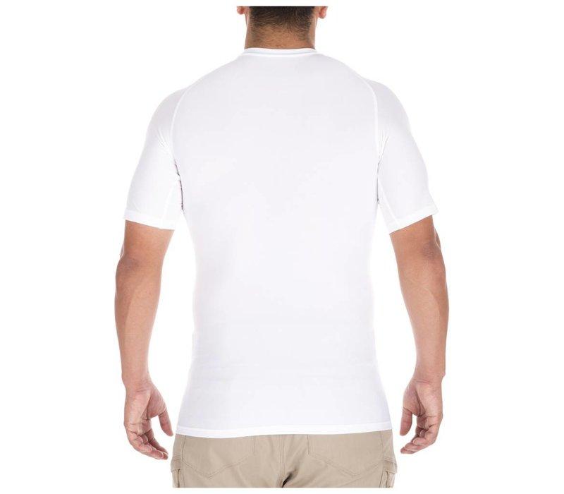 Tight Crew Short Sleeve Shirt - White