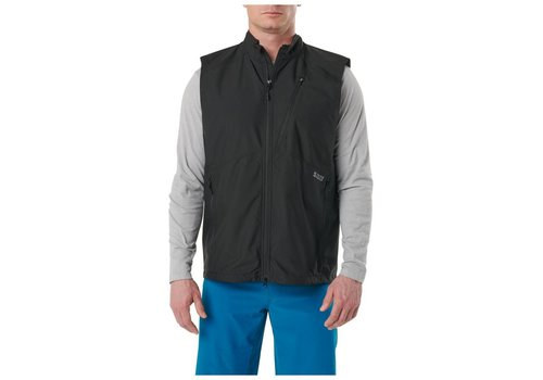 5.11 Tactical Cascadia Windbreaker Vest - Black