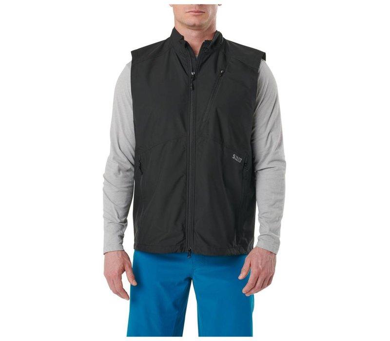 Cascadia Windbreaker Vest - Black