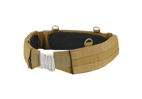 Condor 121160 Slim Battle Belt - Coyote Brown