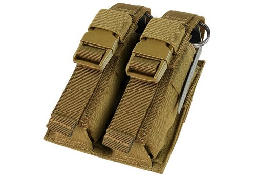 Condor 191063 Double Flashbang Pouch - Coyote Brown