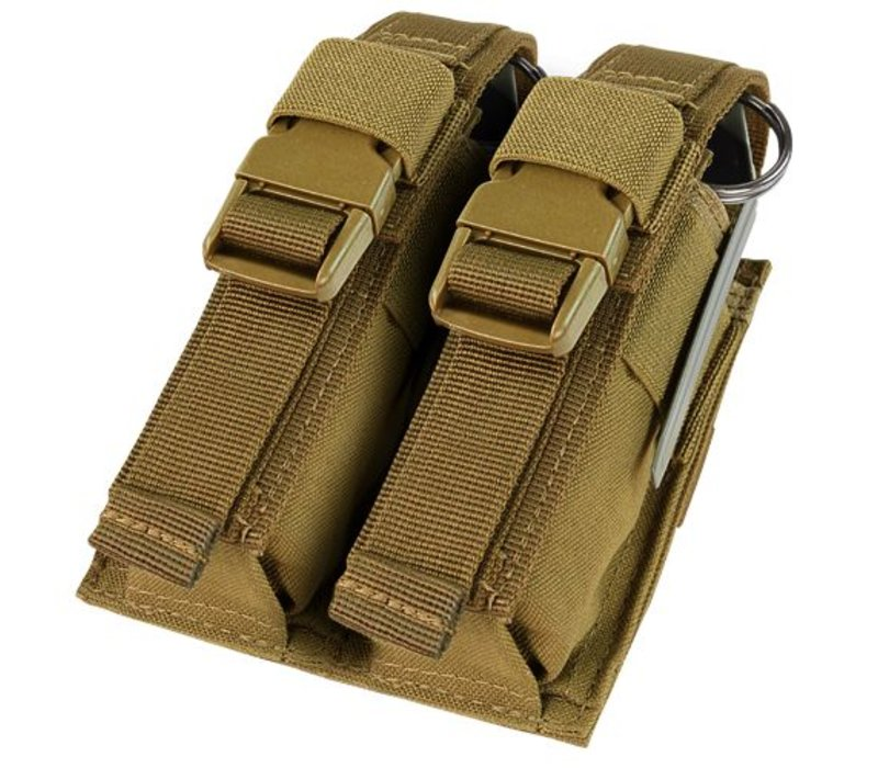 191063 Double Flashbang Pouch - Coyote Brown