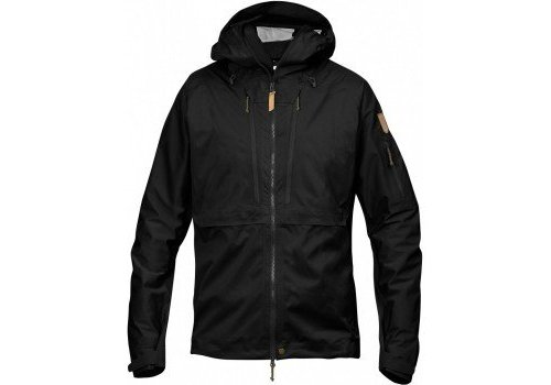 FjallRaven Keb Eco-Shell Jacket - Black
