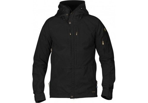 FjallRaven Keb Jacket - Black/Black