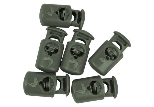 Viper Cord Locks - Olive Green