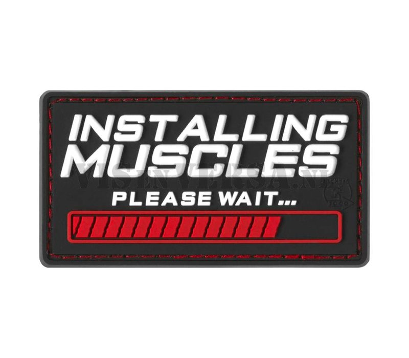 Installing Muscles Rubber Patch - Color