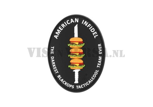 American Infidel Rubber Patch Color