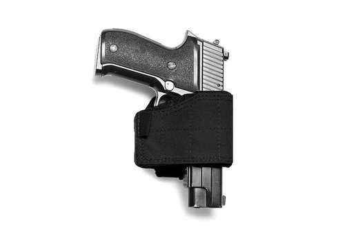 Warrior Universal Pistol Holster- Left Handed - Black