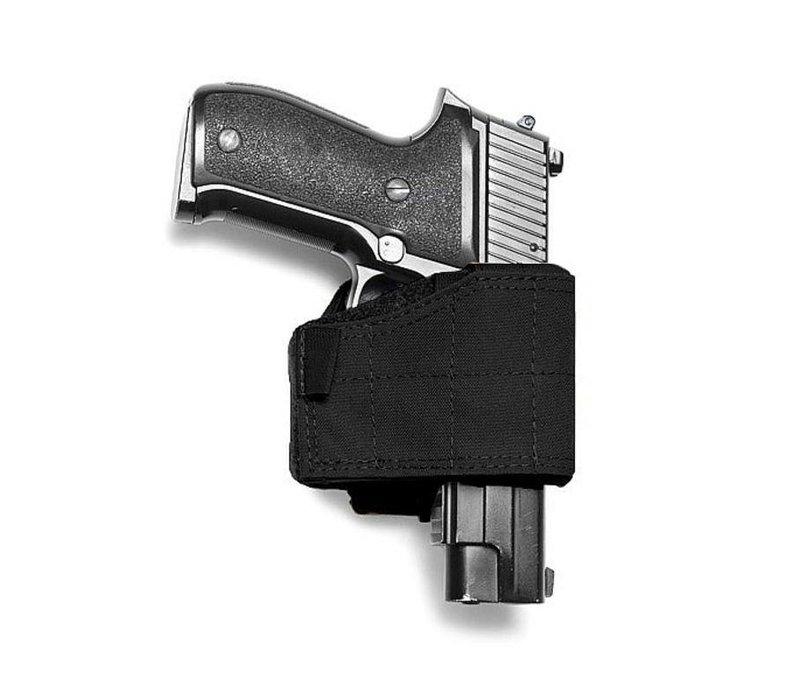 Universal Pistol Holster- Left Handed - Black