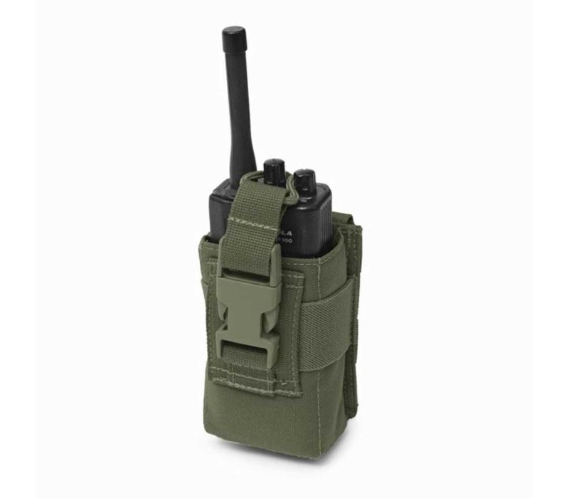 Elite OPS Small Radio Pouch - Olive Drab