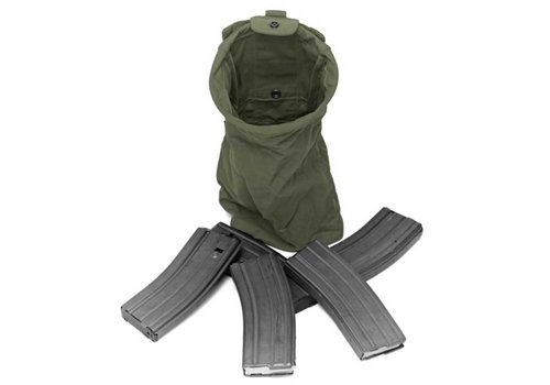 Warrior Slimline Foldable Dump Pouch - Olive Drab